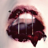 blood lips