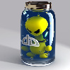 Alien in jar