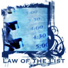 Law of the list